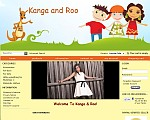 kanga and roo shopping cart site